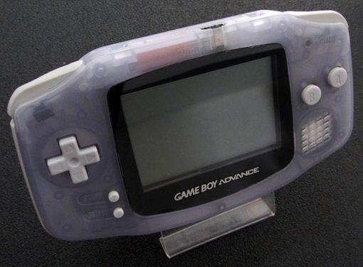Consola Usada Nintendo Game Boy Advance Transparente