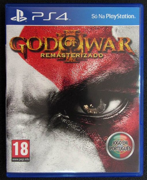 God of War III - Remasterizado PS4