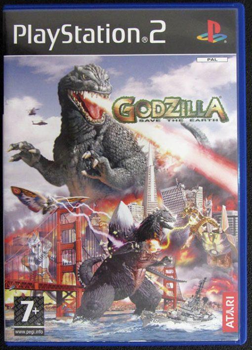 Godzilla: Save the Earth PS2