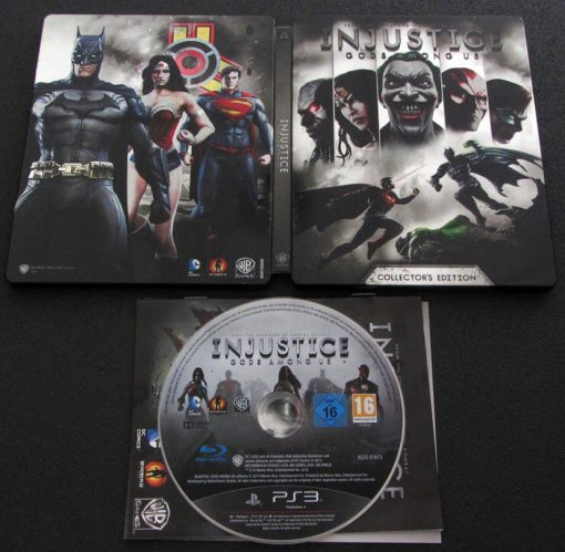 Injustice: Gods Among Us - Steelbook PS3
