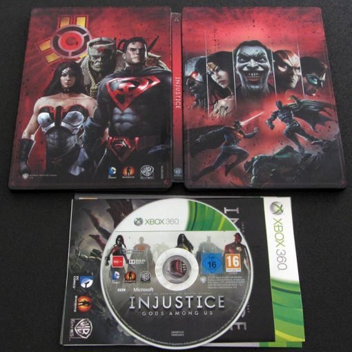 Injustice: Gods Among Us - Steelbook X360