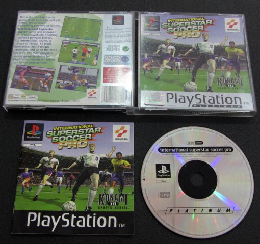 International Superstar Soccer Pro PS1