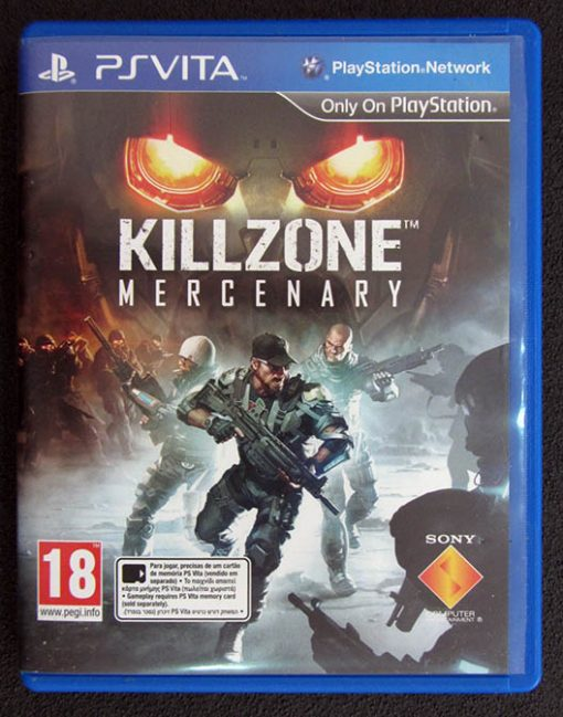 Killzone Mercenary PSVITA
