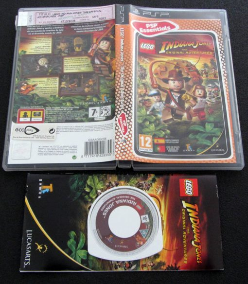 Lego Indiana Jones: The Original Adventures PSP