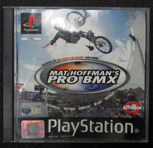 Mat Hoffman's Pro BMX PS1