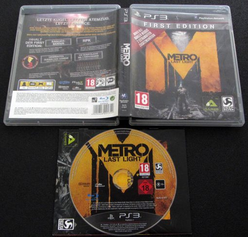 Metro: Last Light PS3