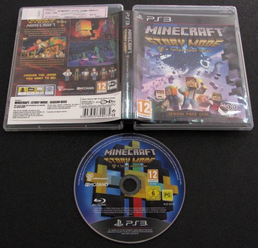 Minecraft: Story Mode PS3