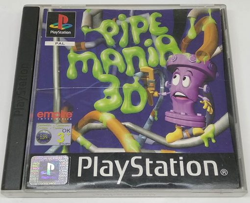 Pipe Mania 3D PS1