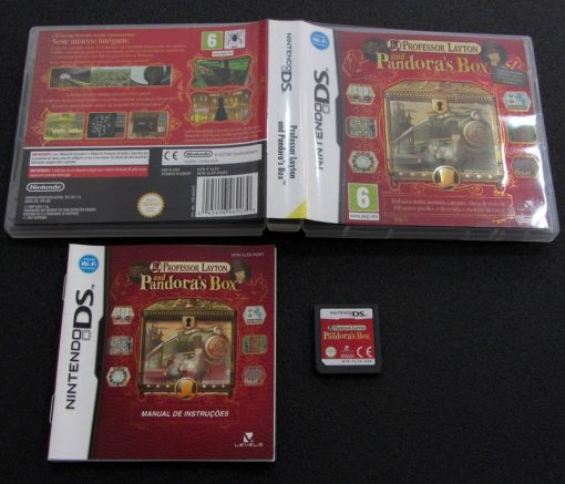 Professor Layton and Pandora's Box NDS