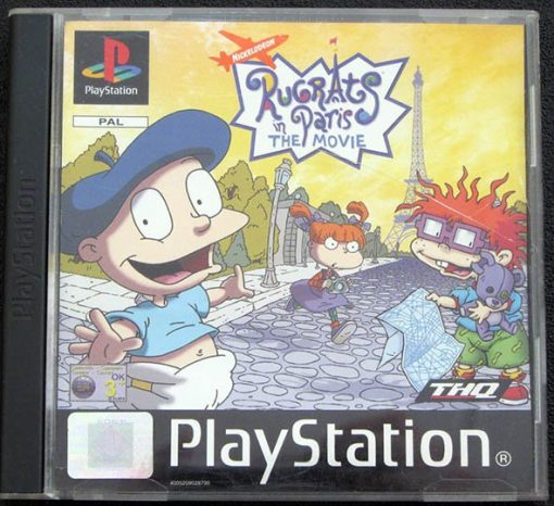 Rugrats in Paris: The Movie PS1