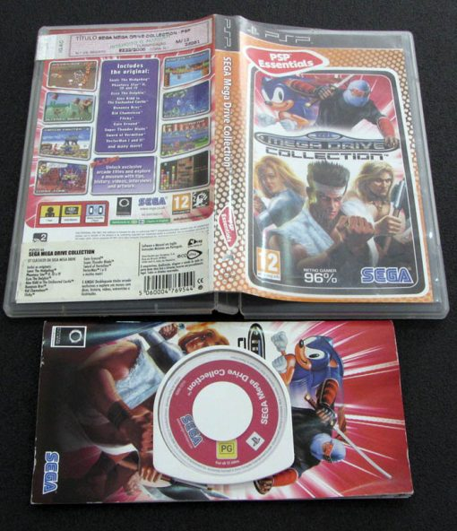 Sega Mega Drive Collection PSP