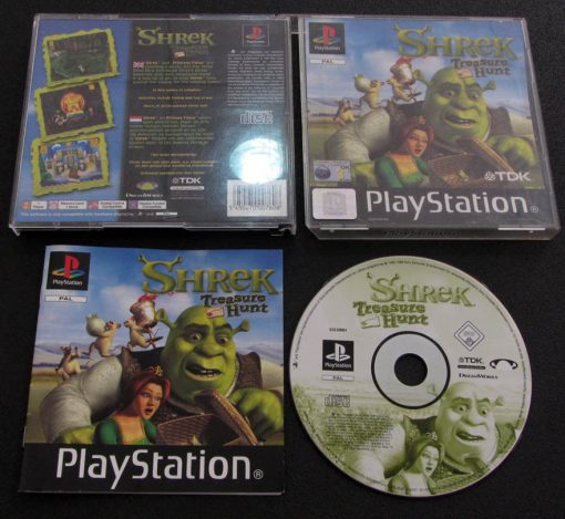 Shrek: Treasure Hunt PS1