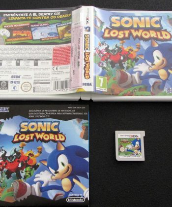 Sonic: Lost World 3DS