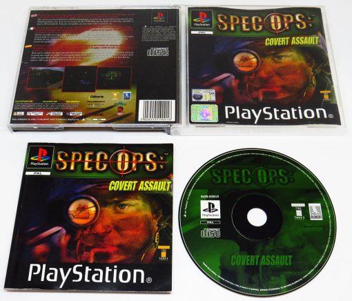 Spec Ops: Covert Assault PS1