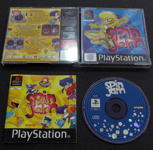 Spin Jam PS1