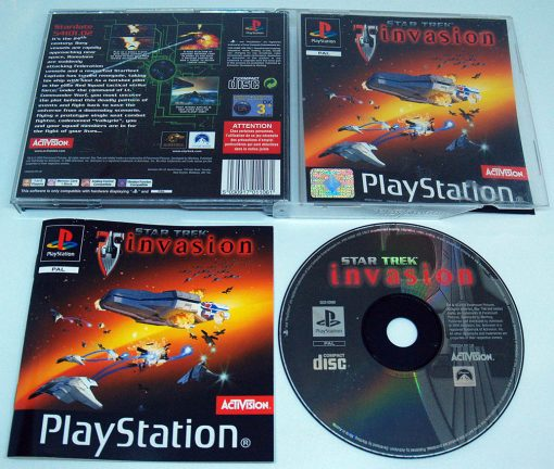 Star Trek: Invasion PS1