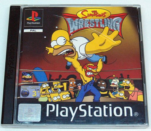 The Simpsons Wrestling PS1
