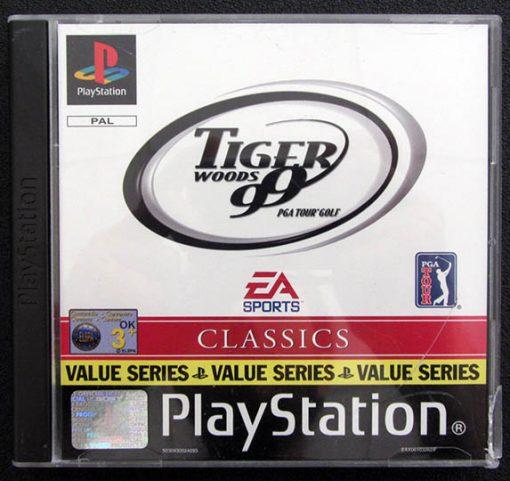 Tiger Woods 99 PGA Tour Golf PS1