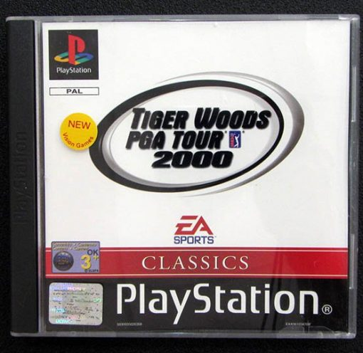 Tiger Woods PGA Tour 2000 PS1