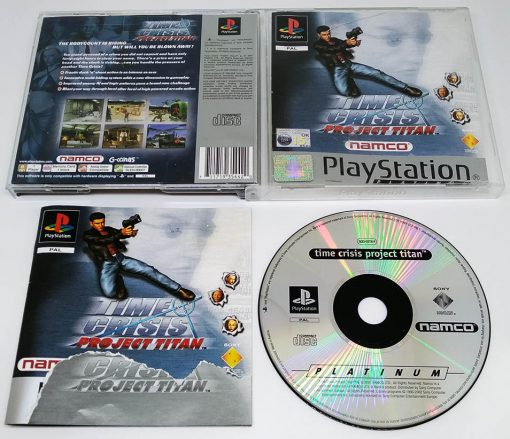 Time Crisis: Project Titan PS1