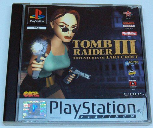 Tomb Raider III: Adventures of Lara Croft PS1
