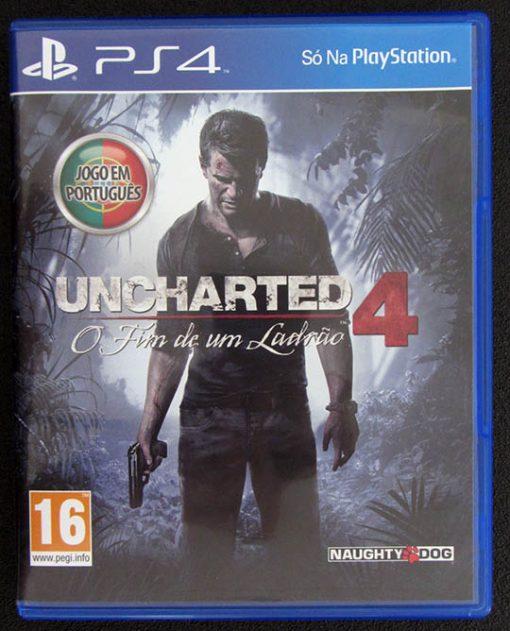 Uncharted 4: O Fim de um Ladrão PS4
