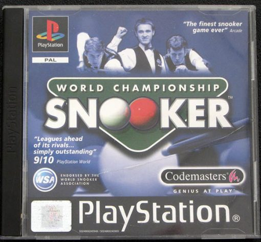 World Championship Snooker PS1