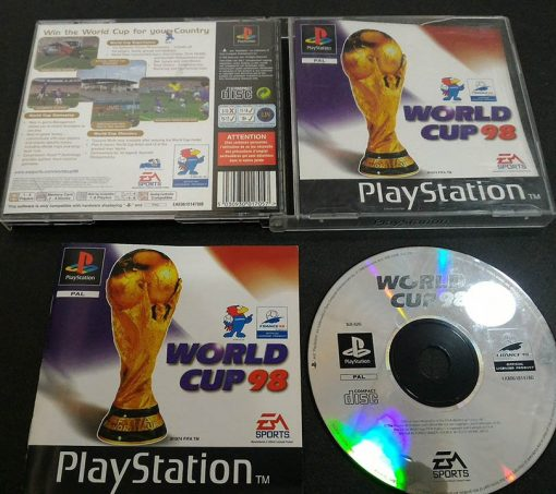 World Cup 98 PS1