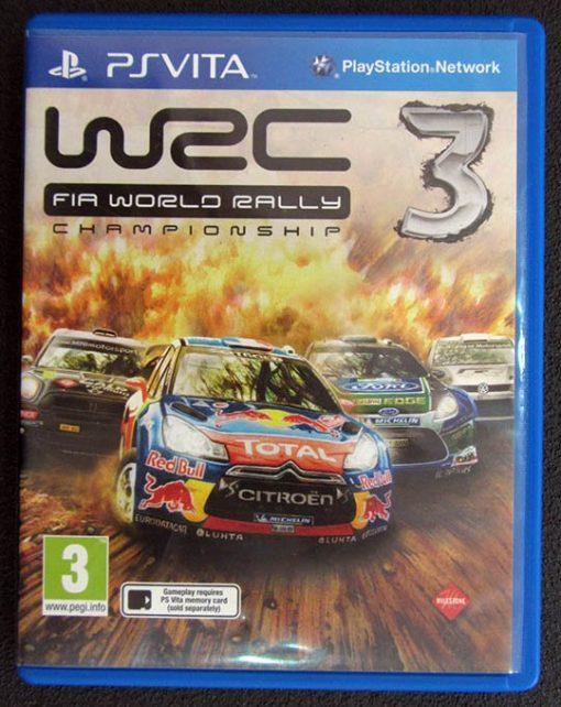 WRC 3 PSVITA