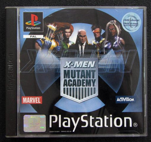 X-Men: Mutant Academy PS1