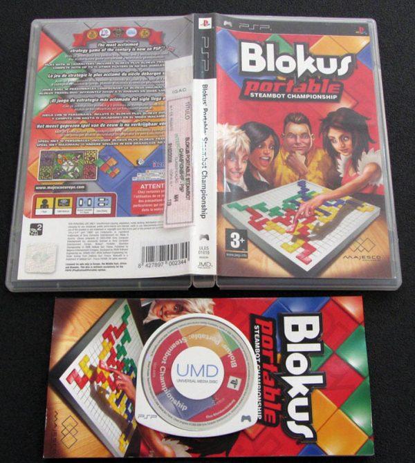 Blokus Portable: Steambot Championship PSP