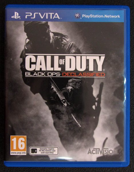 Call of Duty: Black Ops Declassified PSVITA