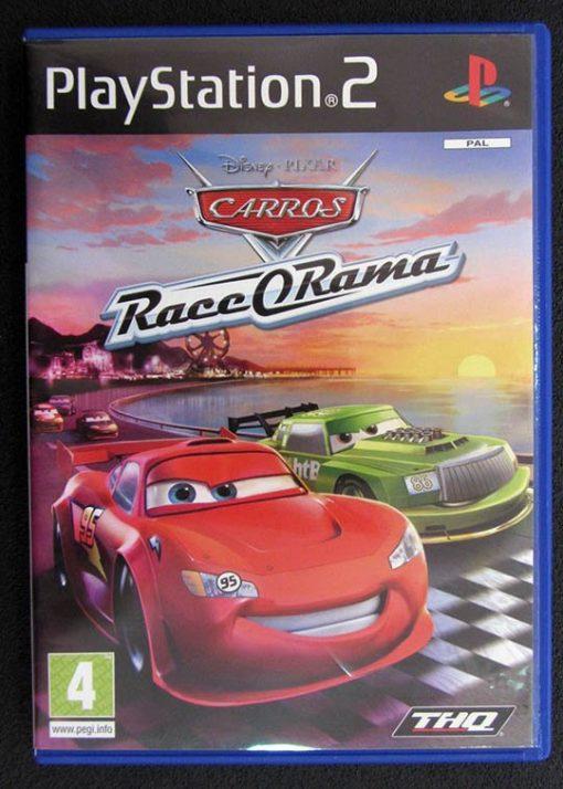 Disney Pixar Carros: Race-o-Rama PS2