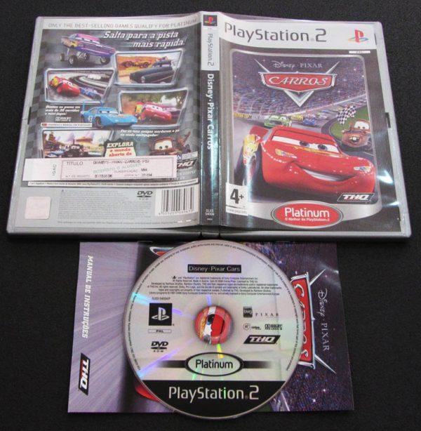 Disney Pixar Carros PS2