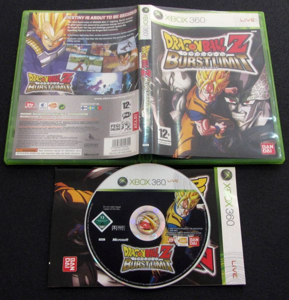 Dragon Ball Z: Burst Limit X360