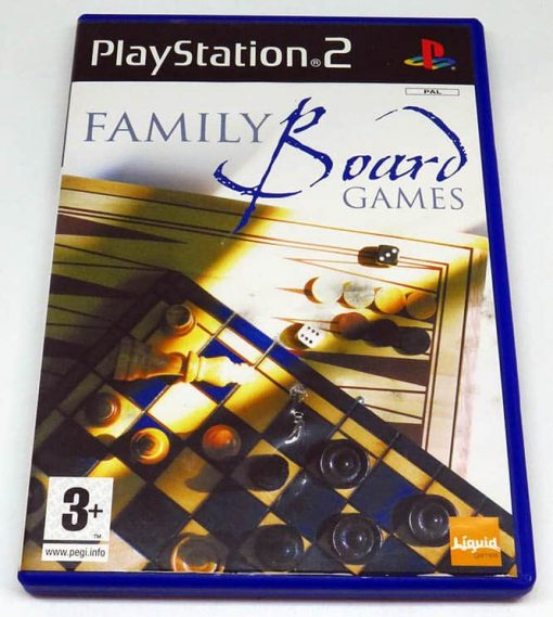 Family Board Games PS2