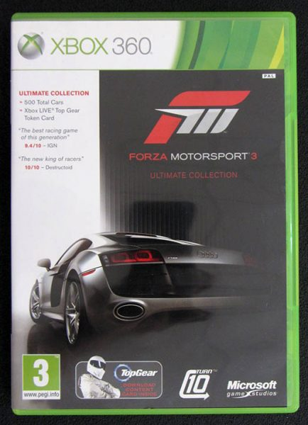 Forza Motorsport 3: Ultimate Collection X360