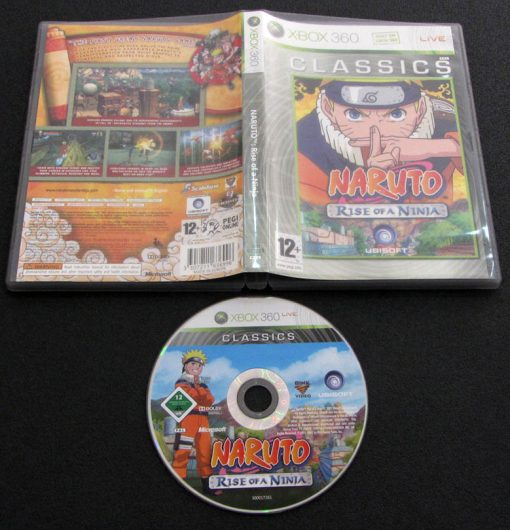 Naruto: Rise of a Ninja X360