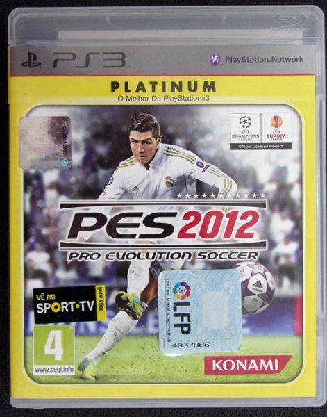 Pro Evolution Soccer 2012 PS3