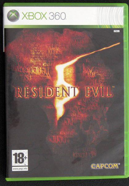 Resident Evil 5 X360