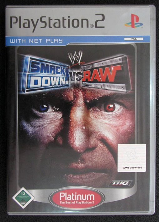 Smackdown vs Raw PS2