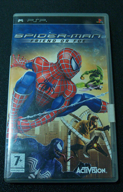 Spider-Man: Friend or Foe PSP