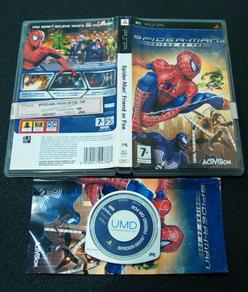 Spider-Man: Friend or Foe PSP