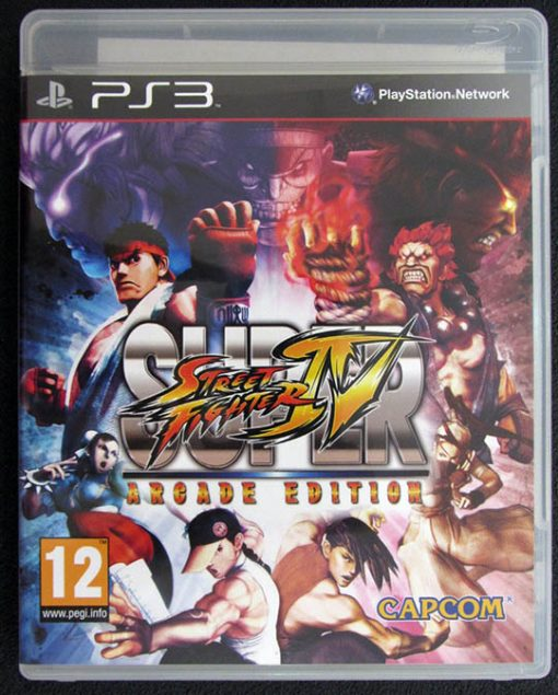 Super Street Fighter IV: Arcade Edition PS3