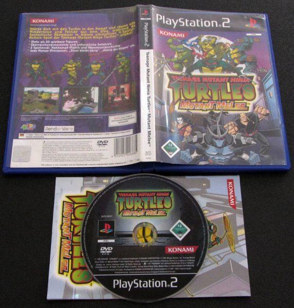 Teenage Mutant Ninja Turtles: Mutant Melee PS2