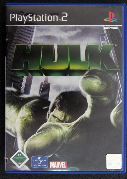 The Hulk PS2