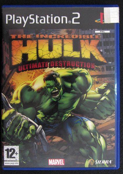 The Incredible Hulk: Ultimate Destruction PS2