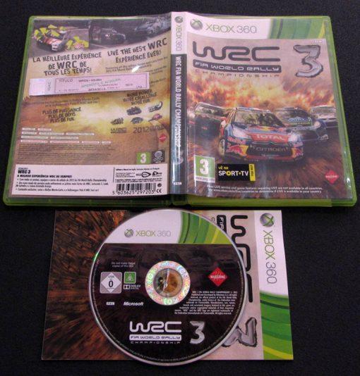 WRC 3 X360