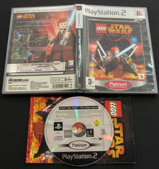 Lego Star Wars: The Videogame PS2