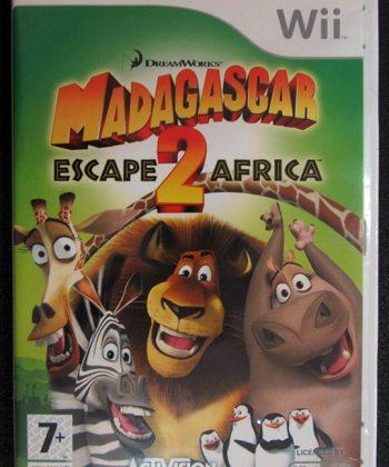 Madagascar: Escape 2 Africa WII